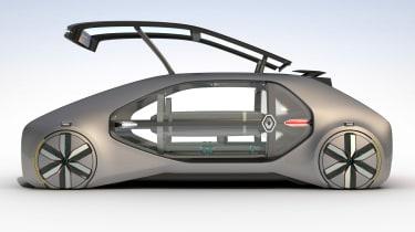 Renault EZ-GO concept - side door open