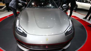 Ferrari GTC4 Lusso - Geneva show front profile