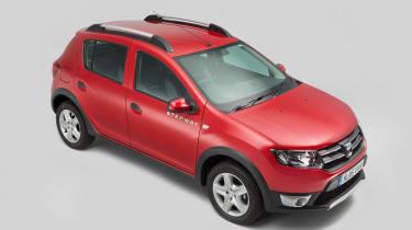 Used Dacia Sandero - above