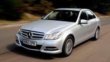 Mercedes C220 CDI Executive SE front action