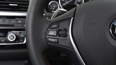 BMW 4 Series - steering wheel