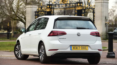 Volkswagen e-Golf - rear static