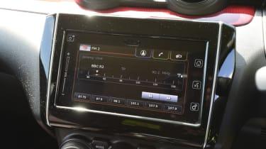 Suzuki Swift Sport screen
