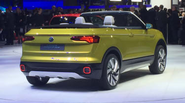 Volkswagen T-Cross Breeze - Geneva show rear