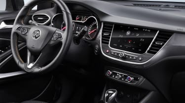Vauxhall Crossland X - interior