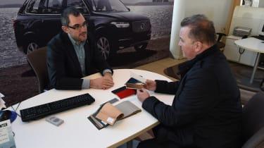 Volvo XC90 long term - dealership
