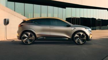 Renault Megane eVision - side