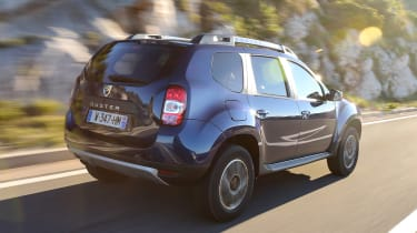 Dacia Duster facelift - rear