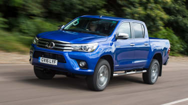 Best cars under £15,000  - Toyota Hilux