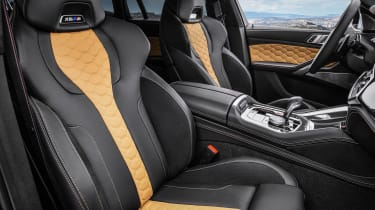 BMW X6 M Competition - front seats
