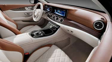Mercedes E-Class Estate - interior cream 2
