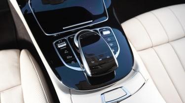 Mercedes E-Class Coupe - E 220d centre console