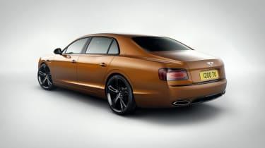 Bentley Flying Spur V12 S rear side