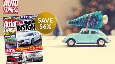 Auto Express Xmas 2016 subscription offer