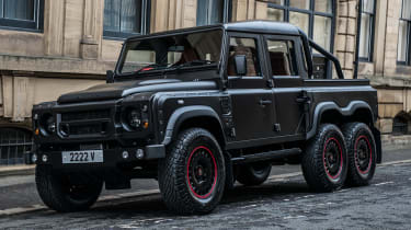 Kahn Land Rover Defender Flying Huntsman - front quarter