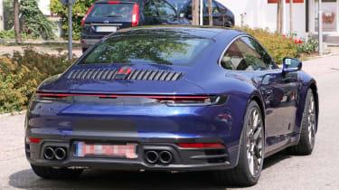 Next generation Porsche 911 rear bumper