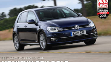 Volkswagen Golf - Compact Family Car of the Year 2018
