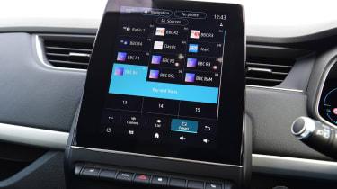 Renault Zoe - infotainment