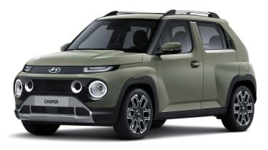 Hyundai Casper - green