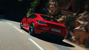 Porsche 718 Cayman GTS 4.0 - rear