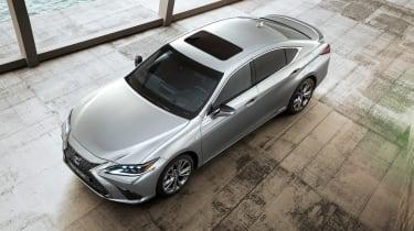 Lexus ES F-Sport - above