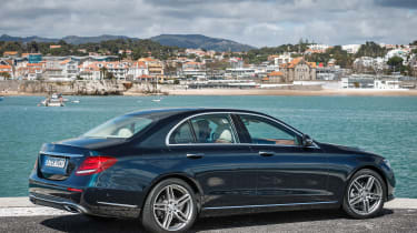 Mercedes E-Class - side static