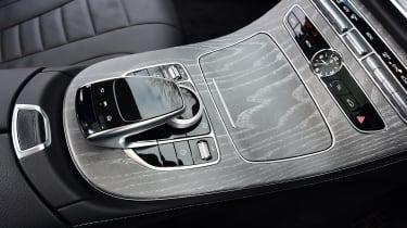 Mercedes CLS - centre console