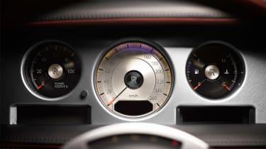 Rolls-Royce Phantom Zenith instruments