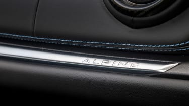 Alpine A110 ride review - detail