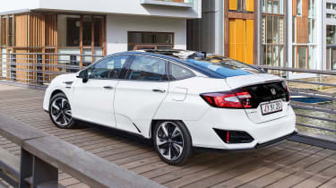 Honda Clarity - rear static