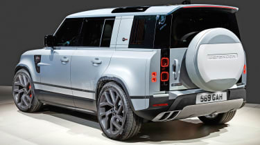 Land Rover Defender SVR - rear