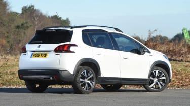Peugeot 2008 - rear static