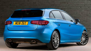Mercedes A-Class - rear (watermarked)