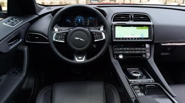 Jaguar F-Pace first drive - interior