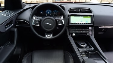 Jaguar F-Pace first drive - interior