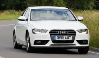 Audi A4 TDIe corner