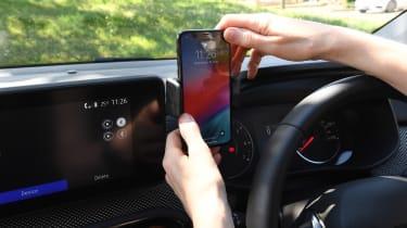 Dacia Sandero Stepway long termer - first report phone