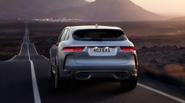 Jaguar F-Pace SVR - full rear