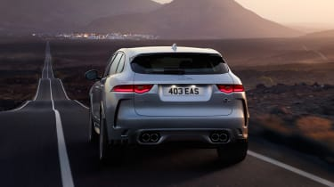Jaguar F-Pace SVR - full rear