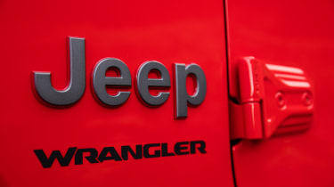 New Jeep Wrangler - badge