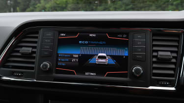 Cupra Ateca - screen