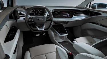 Audi Q4 e-tron concept - dash