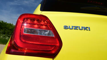 Suzuki Swift Sport tail light