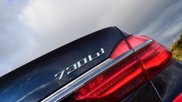 BMW 7 Series - badge detail