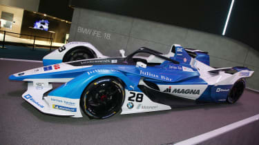 BMW Formula E car - Frankfurt
