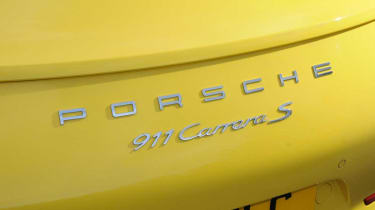 Porsche 911 Carrera S badge