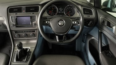 VW Golf Mk7 - interior
