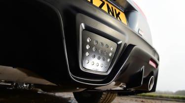 Toyota Supra 2.0 - rear detail