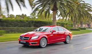 Mercedes CLS 63 AMG front