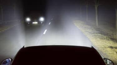 Matrix headlights